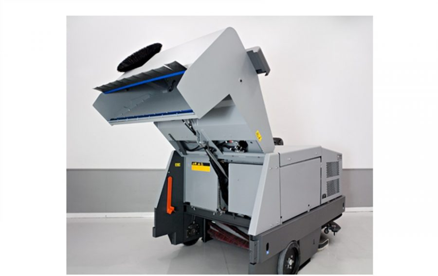 CR1500 - Combination Sweeper / Scrubber-Dryer - Back Hopper
