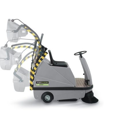 TF110R-TRS-HD - TOPFLOOR Industrial Ride On Sweeper