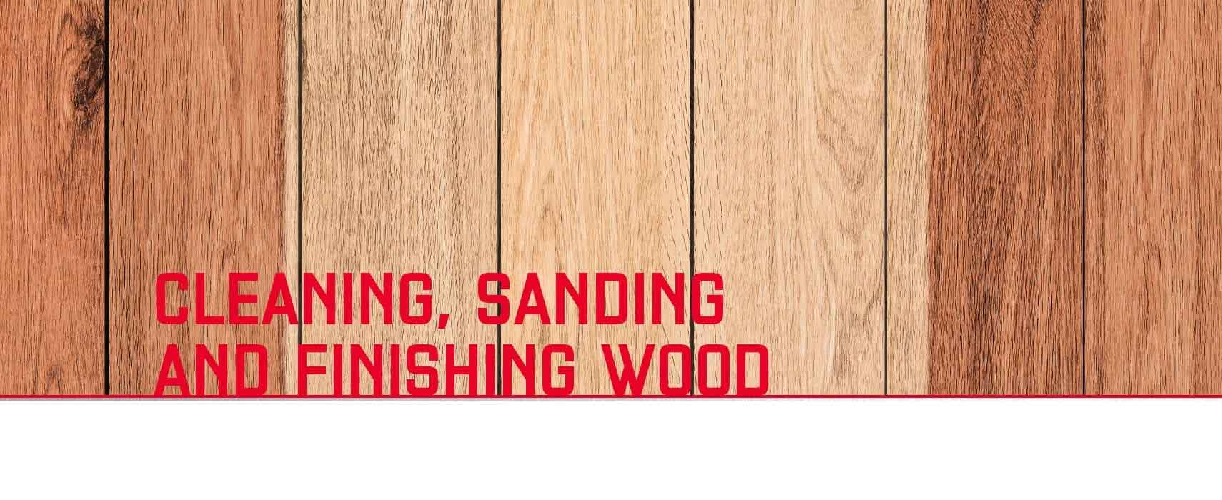 Sanding & Finishing