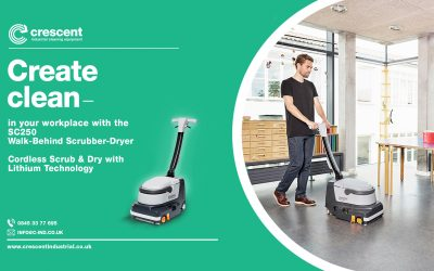 The Complete Guide to Walk Behind Floor Scrubber-Dryer