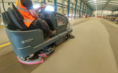 Key Advantages of Floor Cleaning Machines