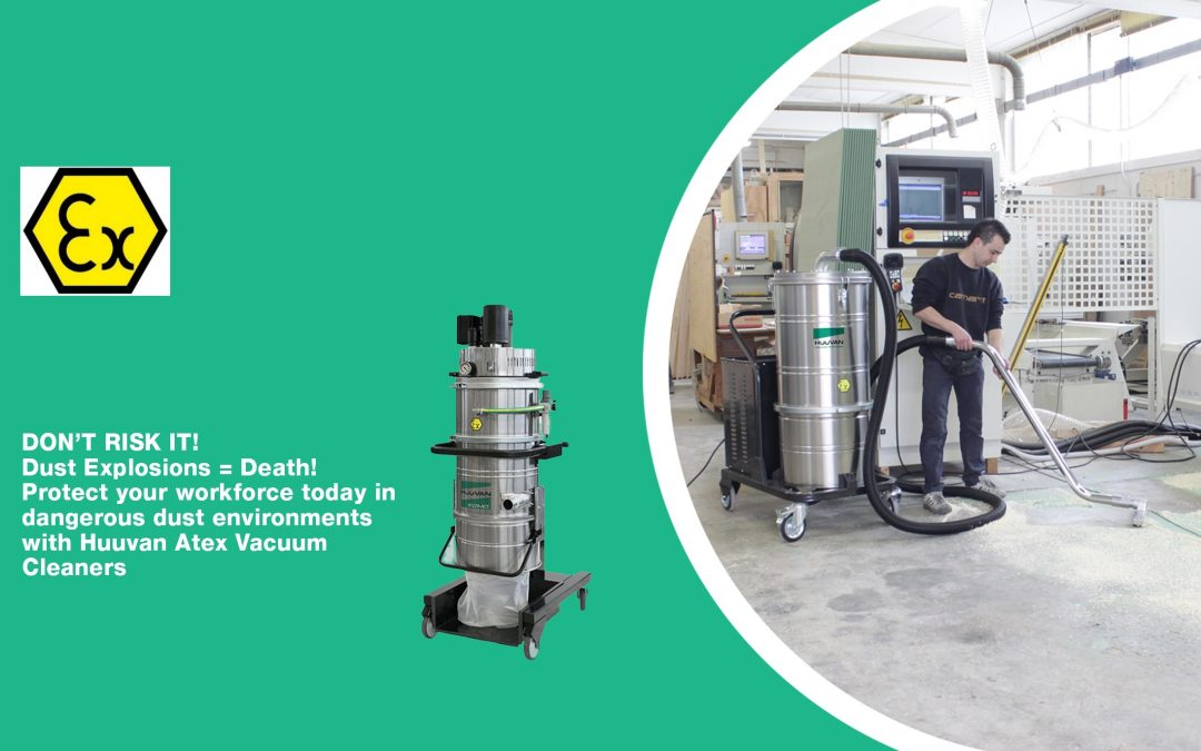 Safe Industrial ATEX Vacuum Cleaners