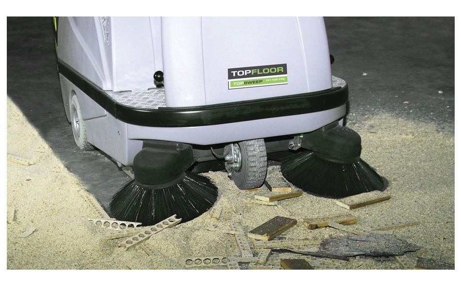 Using the Correct Equipment for Sweeping Construction Sites