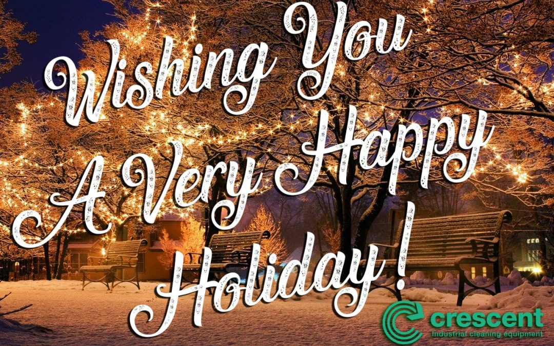 Crescent Industrial Wish You A Very Happy Holiday Season & Best Wishes For 2020