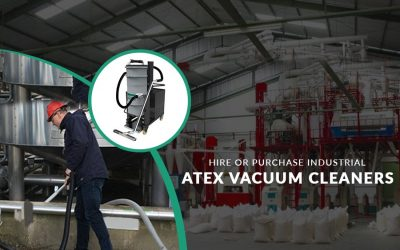 Atex Dust Rated Industrial Hoover with Automatic Cleaning System