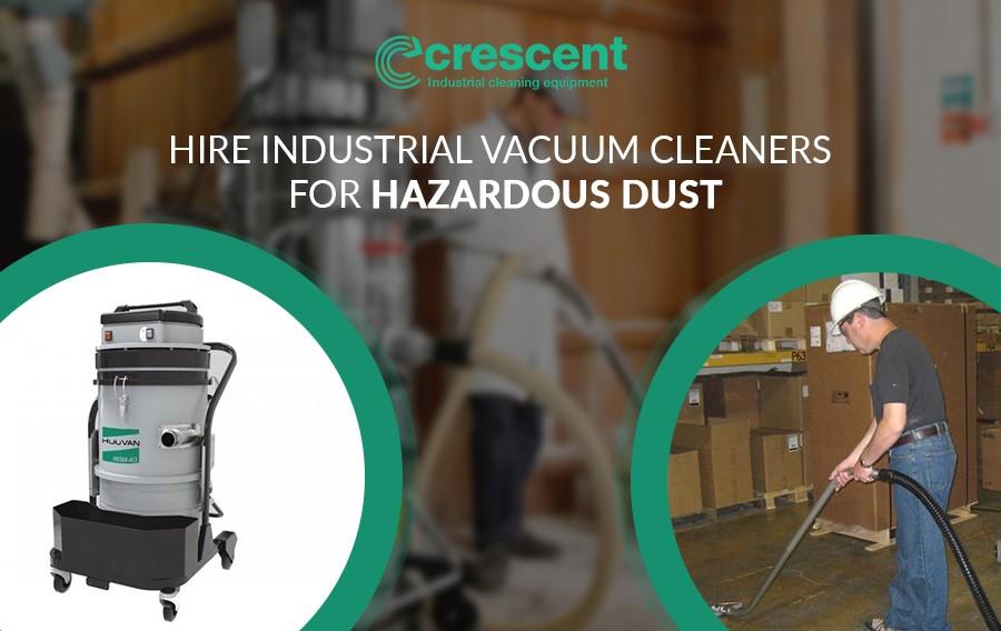 Industrial Hoover for Hazardous Dust