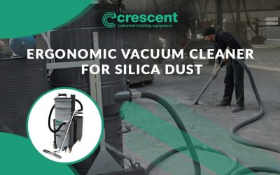 Ergonomic Vacuum Cleaner for Silica Dust