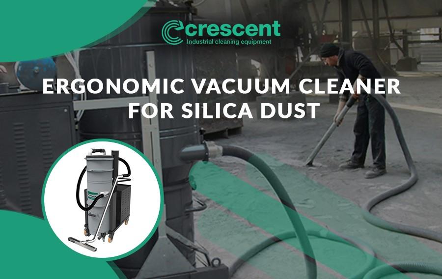Ergonomic Vacuum Cleaner for Silica Dust