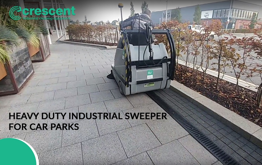 Heavy Duty Industrial Sweeper for Car Parks