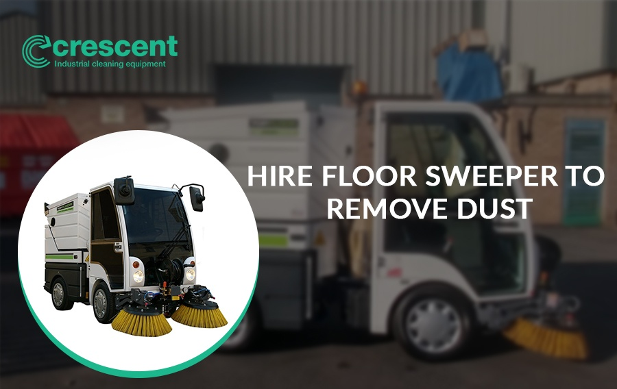 Hire Floor Sweeper with Additional Working Tools