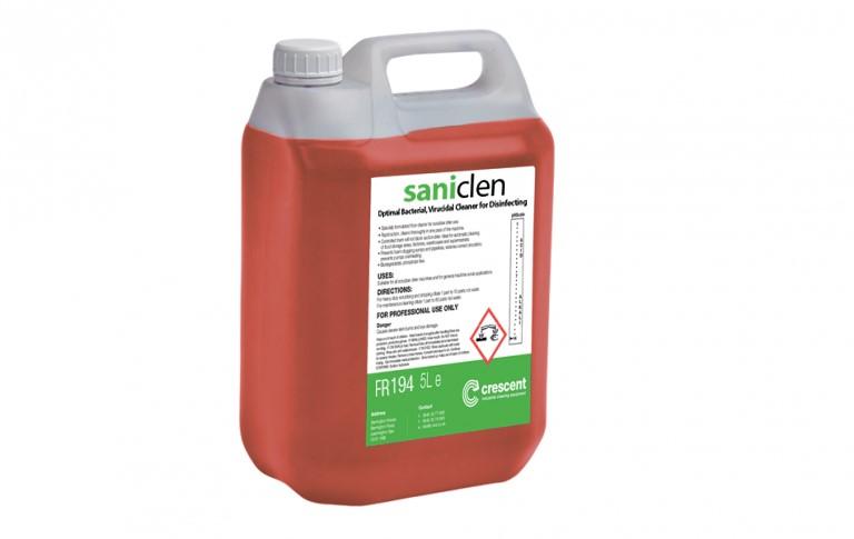 saniclen - Virucidal & Bacteriacidal Floor and Surface Cleaner