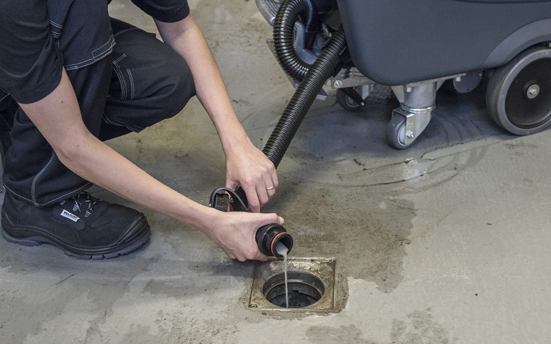 5 steps to maintain your floor scrubber and get the best cleaning results