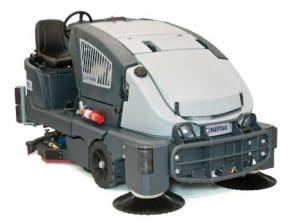 COMBINATION SWEEPERSCRUBBER DRYERS